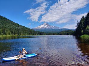 Trillium Lake fun