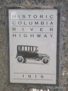 scenic road sign