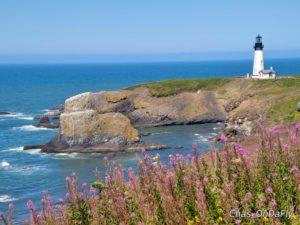 scenic Yaquina Lighthouse