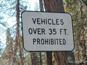 Scenic Byway restrictions